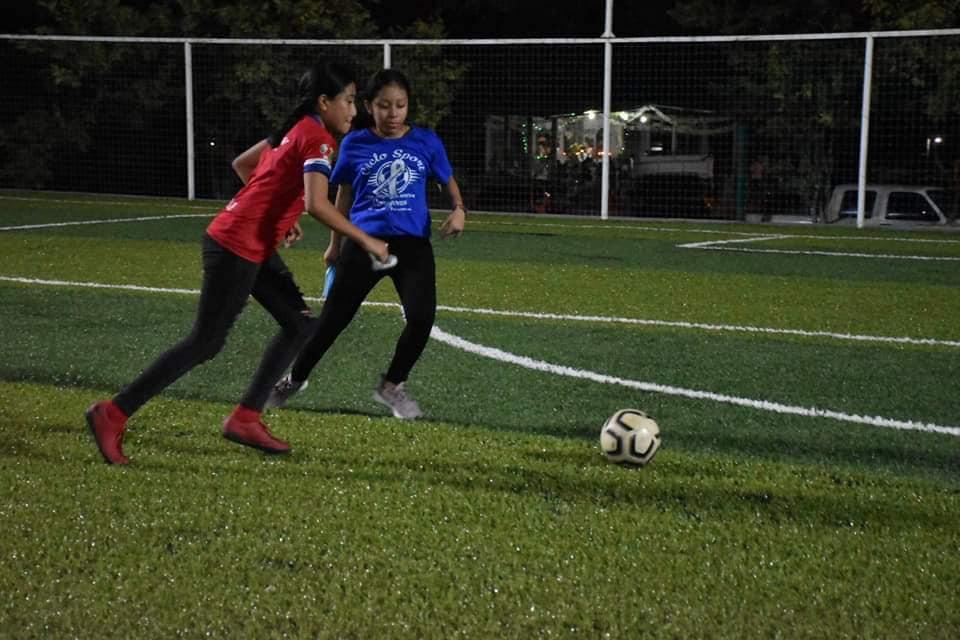 Niños tendrán un espacio digno para practicar fútbol.